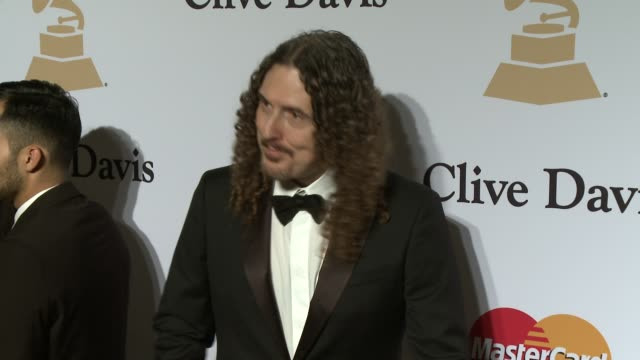 'Weird Al' Yankovic at the PreGrammy Gala And Salute To Industry Icons Honoring Martin Bandier at The Beverly Hilton Hotel on February 07 2015 in...