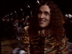 Weird Al Yankovic at the 'School of Rock' Premiere at the Cinerama Dome at ArcLight Cinemas in Hollywood California on September 24 2003