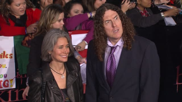 'Weird Al' Yankovic at the The Los Angeles Premiere Of 'The Twilight Saga Breaking Dawn Part 1' at Los Angeles CA