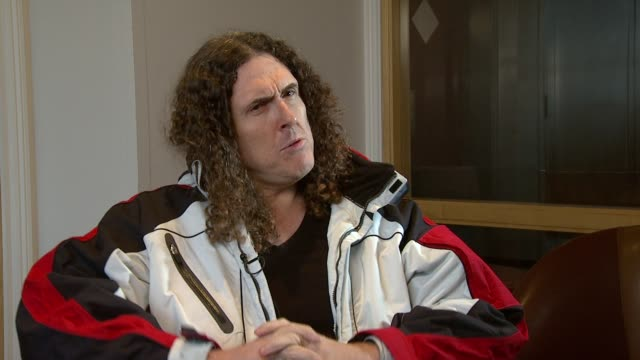 Weird Al Yankovic on doing a Lady Gaga parody at the Weird Al Yankovic Interview at London England