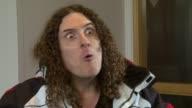 Weird Al Yankovic on having the moniker Weird at the Weird Al Yankovic Interview at London England