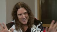 Weird Al Yankovic on how he channels different stars at the Weird Al Yankovic Interview at London England
