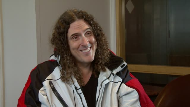 Weird Al Yankovic on how he has a great day every day of his life at the Weird Al Yankovic Interview at London England