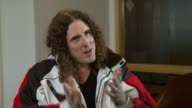 Weird Al Yankovic on how learning the accordion led him to being a star at the Weird Al Yankovic Interview at London England