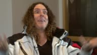 Weird Al Yankovic on making films at the Weird Al Yankovic Interview at London England
