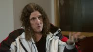 Weird Al Yankovic on the royalties for the music at the Weird Al Yankovic Interview at London England