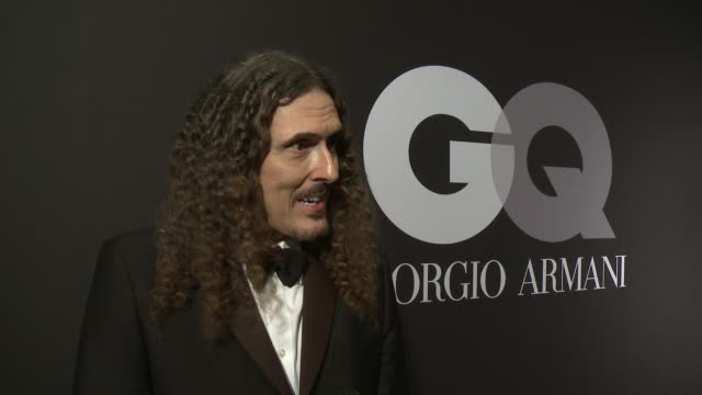 INTERVIEW 'Weird Al' Yankovic on winning a Grammy why he wanted to celebrate with GQ and his favorite moments from the show at GQ Celebrates The...