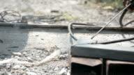 Welder metal pipe,Dolly shot HD 1080 video footage