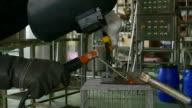 Welding Worker Slow Motion