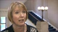 Harriet Harman interview ENGLAND London Westminster INT Harriet Harman MP interview SOT