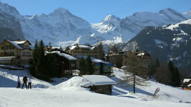 Wengen, Lauterbrunnen Valley, Bernese Alps, Switzerland, Europe