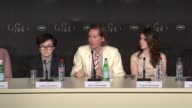 Wes Anderson on childern's books and Susan Cooper at Moonrise Kingdom Press Conference 65th Cannes Film Festival on May 16 2012 in Cannes France