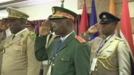 West African army chiefs gather in Monrovia to discuss the threat of terrorism election violence piracy and political instability in the ECOWAS region