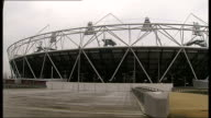 West Ham move closer to completing deal to move into Olympic Stadium ENGLAND London Stratford Olympic Park EXT Daffodil blowing in wind PULL Pathway...