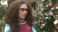 West Ham United's rent for Olympic Stadium confirmed as 25 million pounds a year London Ali Worth interview SOT Wide shot of Olympic Stadium and...