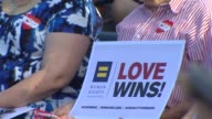 KTLA West Hollywood Celebrates Marriage Equality on June 26 2015