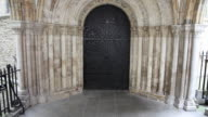 Western portal, Temple Church, London