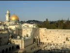 Western Wall and Dome of the Rock in Jerusalem