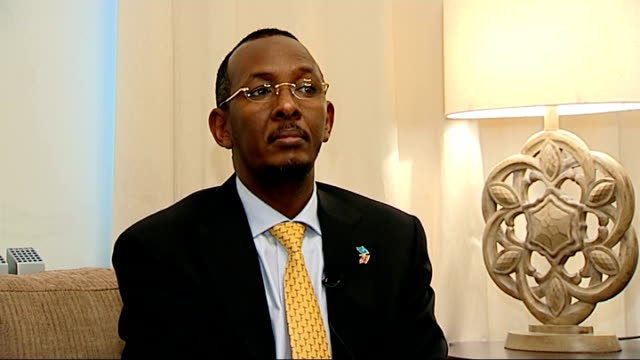 Somali ambassador interview ENGLAND London INT Abdillaahi Mohamed Ali interview on the terrorist attacks by AlShabaab on the Westgate shopping mall...