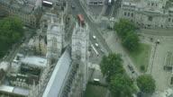 AERIAL CU Westminster Abbey