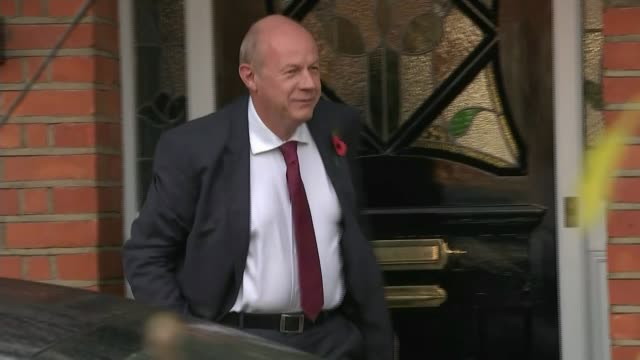Amber Rudd welcomes 'clear out' as further allegations emerge TX London EXT Damian Green MP from house and into car