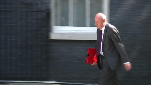 Amber Rudd welcomes 'clear out' as further allegations emerge FILE Date Unknown Downing Street Damian Green MP along and into Number 10