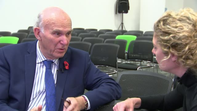 Liberal Democrats accuse party of not investigating claims Sir Vince Cable MP interview SOT On the basis of what I've heard we have not handled this...
