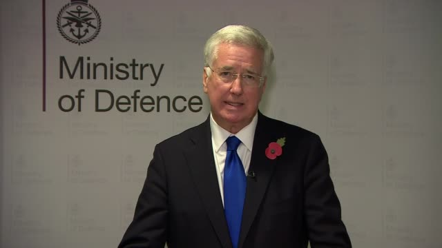 Michael Fallon resigns as Defence Secretary Ministry of Defence INT Sir Michael Fallon MP statement SOT I realise that in the past I may have fallen...