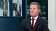 Khalid Masood background / police investigation ENGLAND London GIR INT Major General Chip Chapman LIVE STUDIO interview SOT