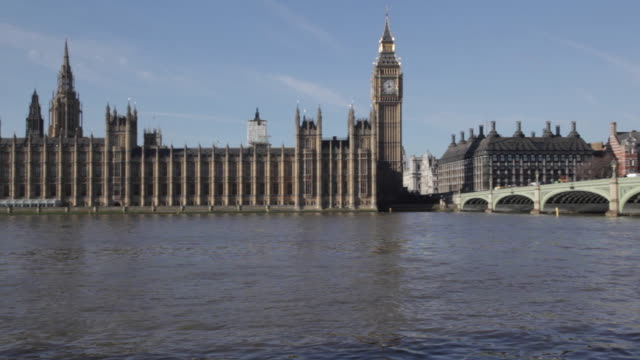 Westminster Bridge, Parliament and Big Ben, City of Westminster, London, England, UK