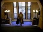Westminster Ken Livingstone MP up stairs PAN