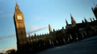 Westminster tramonto