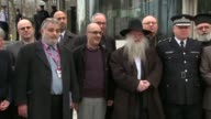 Faith leaders press conference at New Scotland Yard Westminster terror attack Faith leaders press conference at New Scotland Yard ENGLAND London New...