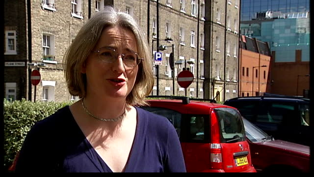 Wheel clamp profits to be banned ENGLAND London EXT Shelia Ranger interview SOT