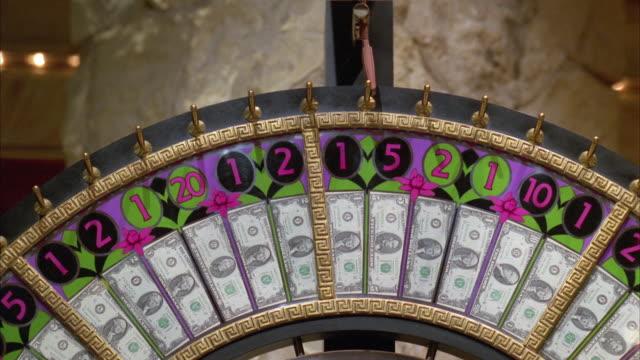 ECU Wheel of fortune spinning / Las Vegas, Nevada, USA