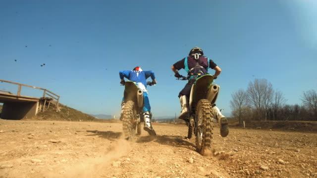 HD SLOW MOTION: Wheelie Motocross Accident