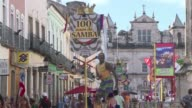 While the Zika virus spreads in Brazil tourists in Salvador Bahia take precautions to avoid being bitten by the Aedes aegypti mosquito the carrier of...