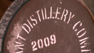 CU Whisky casks in warehouse / Rothes, Speyside, Scotland