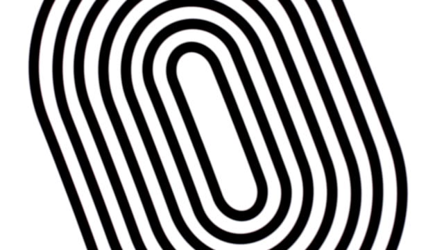White and black spiral. Swirling image. Abstraction.