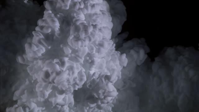 White billowing cloud effect
