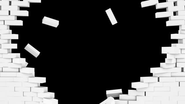 brickwall esplosione bianco