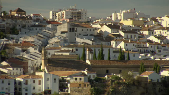 WS HA White buildings of Ronda / Andalusia, Spain