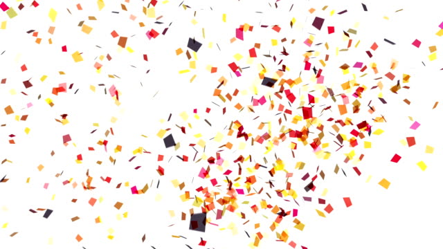 White Confetti Explosion Stock Footage Video Getty Images