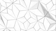 White Geometric Background (LOOPED)