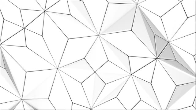 White Geometric Background (LOOPED)