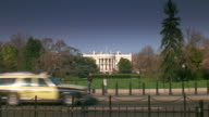 WS White house from north lawn at early morning / Washington D.C., United States