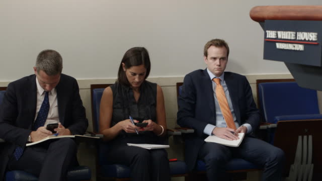 White House Press Secretary Josh Earnest conducts the daily briefing with reporters in the White House Brady Press Briefing Room August 30 2016 in...