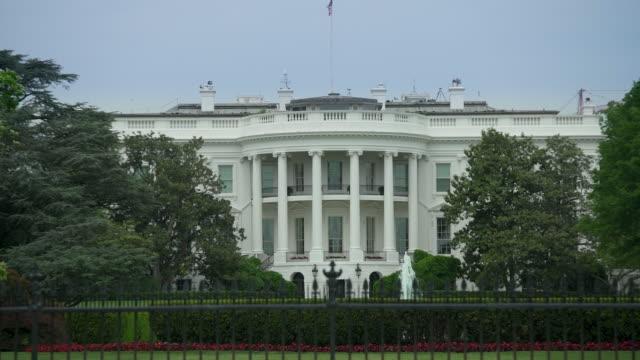 White House South Lawn Washington, DC - Zoom In - 4k/UHD