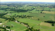 White River Past Edge Of Buffalo River National Park  - Aerial View - Arkansas, Izard County, United States