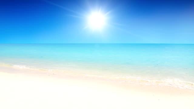 White sand tropial beach
